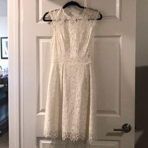 Shoshanna White Lace Dress